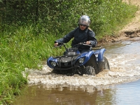 По воде на квадроциклах