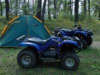 палатка для тура на квадроциклах