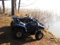 на озерах на квадроцикле