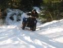 по зимнему лесу прокатились с ветерком